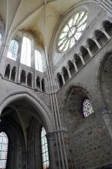 Bâtiment de l'ancien tribunal du bailliage - Transept Sud de l'église Saint-Pierre-et-Saint-Paul à Orbais l'Abbaye.