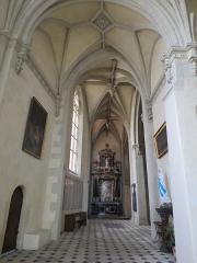 Chapelle Sainte-Croix -  Collatéral renaissance nord du chœur de la cathédrale de la Sainte-Trinité de Laval, Mayenne, Pays de la Loire.