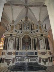 Chapelle Sainte-Croix -  Maître-autel de la cathédrale de la Sainte-Trinité de Laval, Mayenne, Pays de la Loire.