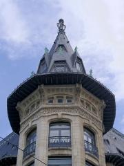 Maison - Deutsch: Frankreich, Nancy, Banque Charles Renauld