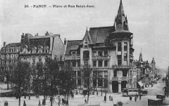 Maison - Banque Charles Renauld sur carte postale.