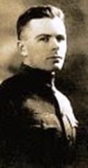 Cimetière américain - English: John Hunter Wickersham - WWI Medal of Honor Recipient.