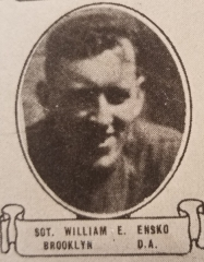 Cimetière américain - English: Sergeant William Edward Ensko (1888-1918) portrait in the Soldiers of the Great War, Volume III, page 278