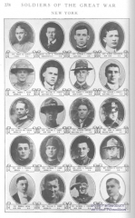Cimetière américain - English: Soldiers of the Great War, volume 2, page 278