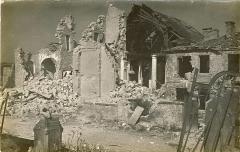 Eglise Saint-Michel - Deutsch: Photographiert im Ersten Weltkrieg. Kirche von Ornes.