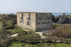 Corps de garde de la Pointe des Poulains, dit Fort Sarah Bernhardt -  Fort Sarah-Bernhardt, Belle-Île-en-Mer, France