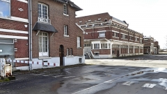 Ancienne malterie et ancienne brasserie Motte-Cordonnier - English: Armentières L'ancienne brasserie Motte Cordonnier, Nord, France