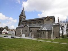 Eglise Saint-Martin dite Notre-Dame des Glaces - Français:   Eglise Saint-Martin de BOUSSOIS