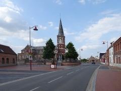 Eglise Saint-Martin -  Église Saint-Martin de Masny  Nord France.