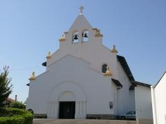 Eglise Sainte-Marie - English: Saint-Mary's church in Anglet (Pyrénées-Atlantiques, Aquitaine, France).