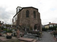 Eglise Notre-Dame de l'Assomption - Français:   Eglise d\'Huart-Cize (Basse-Navarre) (Pyrénées-Atlantiques) (Pyrénées).