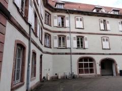 Ancien couvent des Dominicaines de Sylo -  Alsace, Bas-Rhin, Sélestat, Ancien couvent des Dominicaines de Sylo, Maison de retraite Saint-Quirin (XIIIe-XIXe), 9 rue de l'hôpital.