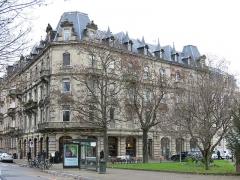 Café Brant - English: Café Brant - 11, place de l'Université, Strasbourg (Bas-Rhin, France).