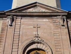 Eglise Notre-Dame de l'Assomption -  Alsace, Bas-Rhin, Villé, Église Notre-Dame-de-l'Assomption (IA67010340).