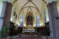 Eglise Notre-Dame de l'Assomption -  Alsace, Bas-Rhin, Villé, Église Notre-Dame-de-l'Assomption (IA67010340): Vue sur le chœur.