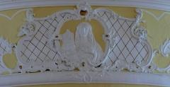 Eglise Notre-Dame de l'Assomption -  Alsace, Bas-Rhin, Villé, Église Notre-Dame-de-l'Assomption (IA67010340): Relief stuqué \