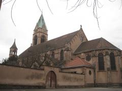 Ensemble paroissial Saint-Joseph de Koenigshoffen - English: St Joseph Church in Strasbourg