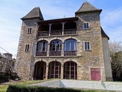 Maison La Prévôté - Français:   Ile Barbe. La Prévoté de face après reconstruction par Claude Laboureur au XVIIe siècle