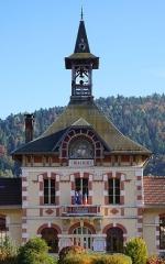 Mairie - Groupe scolaire - Français:   La mairie de Servance.
