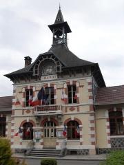 Mairie - Groupe scolaire - Français:   La mairie de Servance-Miellin