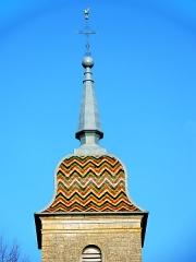 Eglise Saint-Pancrace - Toiture du clocher