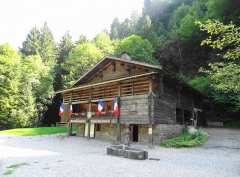 Nécropole de Morette - English: French Resistance Museum in Thônes (Upper Savoy), French Alps
