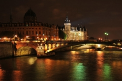 Tribunal de commerce de Paris -  Palais de la Cité & Pont d'Arcole.