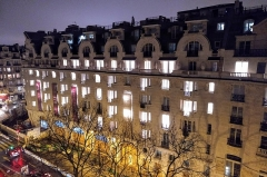 Hôtel Lutétia - English: Hotel Lutetia at night in Paris, France
