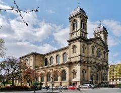 Église Saint-François-Xavier - Deutsch: Kirche St. Franz Xaver der Fremdenmission, Paris, Region Île-de-France, Frankreich