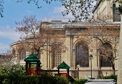 Église Saint-François-Xavier - Deutsch: Chor der Kirche St. Franz Xaver der Fremdenmission, Paris, Region Île-de-France, Frankreich