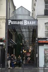 Passage Brady -  Passage Brady