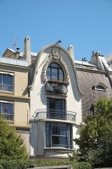 Immeuble - Deutsch: Rue Victor-Schœlcher Nr. 5 im 14. Arrondissement in Paris (Île-de-France/Frankreich)