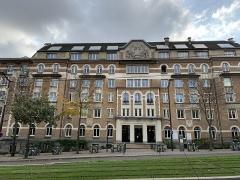 Cité internationale universitaire : Fondation des Etats-Unis - Français:   Fondation des États-Unis, Paris.