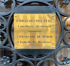 Immeuble de l'Ambassade du Pérou (résidence de l'ambassadeur) - French Wikimedian, software engineer, science writer, sportswriter, correspondent and radio personality