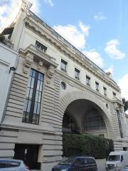 Ancien hôtel particulier de Roland Bonaparte - Français:   Rue Fresnel 10. Architecte Ernest Janty 1892-1899 Ancien hôtel du Prince Roland Bonaparte