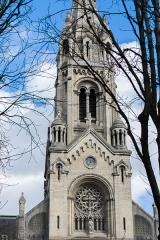 Église Notre-Dame-de-la-Croix - English: The église Notre-Dame-de-la-Croix de Ménilmontant in Paris, France.