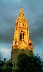 Église Notre-Dame-de-la-Croix -  Eglise ND de la Croix, Ménilmontant  Place Maurice Chevalier, Paris