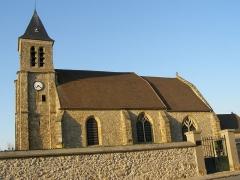 Eglise Saint-Germain-de-Paris -  fr:Magny-les-Hameaux, l'église Saint-Germain au Vieux Village