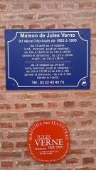 Maison Jules Verne - Français:   Maison de Jules Verne 1