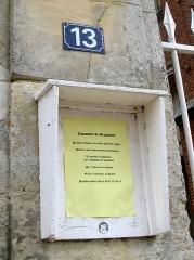 Eglise Saint-Agnan -  Grivesnes (Somme, France) -   Lors des Journées européennes du Patrimoine de septembre 2009, (l'intérieur de) l'église pouvait être accessible aux visiteurs. Mais cette année, il fallait prévenir par téléphone pour en obtenir l'ouverture.  .     .