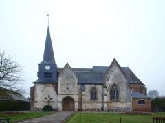 Eglise Saint-Vincent - Français:   Saint-Maxent (Somme, France); église