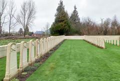 Cimetière britannique - Nederlands: Louvencourt Military Cemetery