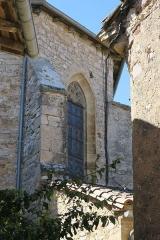 Église Saint-Corneille - English: Puycelsi. Church of Saint-Corneille. Chevet.
