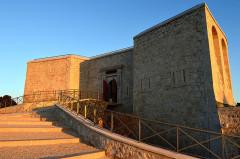 Tour Beaumont, située Colline du Mont-Faron, actuel Mémorial du débarquement en Provence - Français:   ©Onacvg