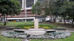 Hôtel Leclerc de Fourolles - English: Bust of José Maria Espinosa on the campus of the Universidad de los Andes