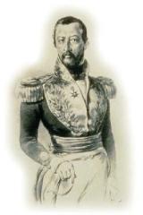 Hôtel Leclerc de Fourolles -  Retrato del general GENERAL JOSE HILARIO LOPEZ