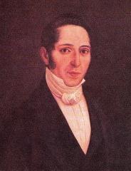 Hôtel Leclerc de Fourolles - Español: Pintura de Vicente Azuero, polìtico liberal colombiano del siglo XIX y prócer de la Independencia de Colombia.
