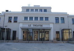 Théâtre municipal (ancienne Maison du Peuple) - English: Auxerre,  Burgundy, FRANCE