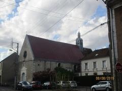 Eglise Saint-Savinien-le-Jeune - Français:   Église et presbytère Saint-Savinien-le-Jeune de Sens.