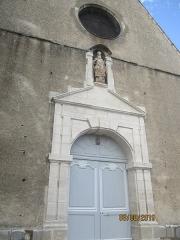 Eglise Saint-Savinien-le-Jeune - Français:   Façade de l\'église Saint-Savinien-le-Jeune de Sens.